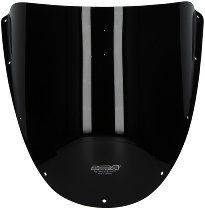 MRA fairing screen, form O, black, with homologation - Ducati 748/916/996/998