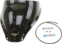 MRA fairing screen, form S, black, with homologation - Ducati 750/800/900/1000 SS 1000DS 1998-