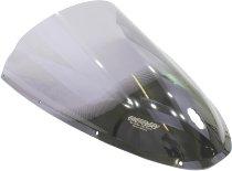 MRA fairing screen, form R, smoky grey, with homologation - Ducati 749 / 999 2005-