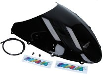 MRA fairing screen, form O, black, with homologation - 848/1098/1198/S