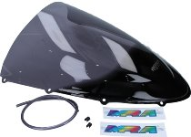 MRA fairing screen, form R, smoky grey, with homologation - 848/1098/1198/S