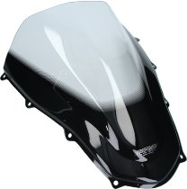 MRA fairing screen, form R, clear - Aprilia RSV MILLE R