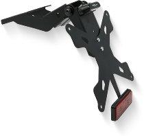 CNC Racing Adjustable license plate, german black - Ducati Hypermotard 950
