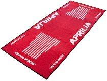 Motorcycle carpet, Aprilia, red, 191cm x 81cm