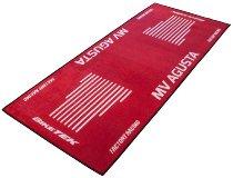 Motorcycle carpet, MV Agusta, red, 191cm x 81cm