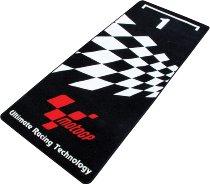 Motorcycle carpet, Moto GP, black, 191x81cm