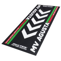 Motorcycle carpet, MV Agusta, classic Italian colours, 190 x 80 cm
