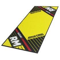 Motorcycle carpet, Suzuki RM, Offroad, yellow, 190 x 80 cm
