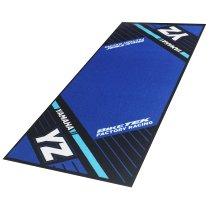 Motorcycle carpet, Yamaha YZ, Offroad, blue, 190 x 80 cm