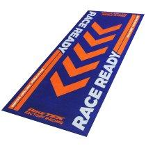 Motorcycle carpet, KTM SX, Race Ready, Offroad, orange, 190 x 80 cm