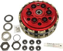 Ducabike Slipper clutch, without springs, red - Ducati