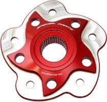 Ducabike Anillo de brida trasero Ducati tipo 02 rojo 748/916/996