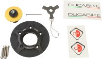 Ducabike Tankdeckel - Ducati Monster 696 - 1100, Diavel