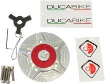 Ducabike Tankdeckel - Ducati 696 - 1100 Monster, Diavel