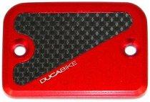 Ducabike Ausgleichsbehälterdeckel, eckig - Ducati Hypermotard 821 / Monster