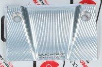 Ducabike Cover handlebar clamp, silver - Ducati XDiavel
