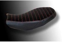 Ducabike Seat cover, black-red - Ducati Scrambler Desert