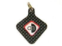 Ducabike Key chain ´DB´, Carbon