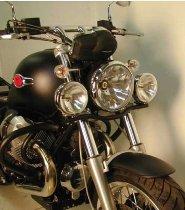Hepco & Becker Twinlight kit, Chrome - Moto Guzzi C940 Bellagio / Aquila Nera