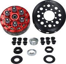 duc or die antihopping clutch 6-springs adjustable, incl. basket, pressure plate red