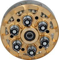 duc or die antihopping clutch 6-springs adjustable, pressure plate gold