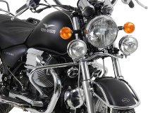 Hepco & Becker Twinlight kit, Chrome - Moto Guzzi California Aquila Nera 2006->