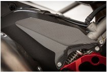 CarbonAttack heel guards set, without holes (glossy) - Ducati 899 / 959 / 1199 / 1299 Panigale / R