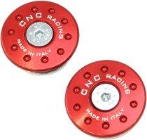 CNC Racing Ducati Kit Protección marco 1199 Panigale rojo