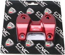 CNC Racing Ducati Riser-Adapter, Monster 1200, rot