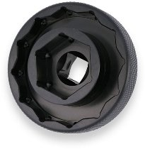 CNC Racing Socket drive tool for wheel nuts, Hexagon 30mm, Polygonal 55mm, 1/2´ - Ducati