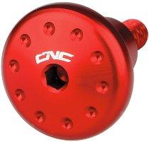 CNC Racing Bolt kit exhaust silencer heat guard (3 pc.) Ducati - red