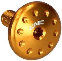 CNC Racing Ducati Aluminum screws (1 pcs) - for radiator, gold