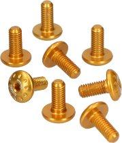CNC Racing Aluminum screws kit (8 pcs) - several applications