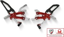 CNC Racing verstellbare Fußrastenanlage - Ducati Streetfighter V4 / S