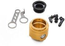 CNC Racing Brems-/Kupplungs-Flüssigkeitsbehälter 25ml mit Sichtfenster ohne Deckel Ducati - gold