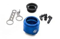 CNC Racing Brems-/Kupplungs-Flüssigkeitsbehälter 25ml mit Sichtfenster ohne Deckel Ducati - blau