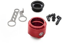 CNC Racing Brems-/Kupplungs-Flüssigkeitsbehälter 25ml mit Sichtfenster ohne Deckel Ducati - rot