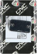 CNC Racing Ducati Ausgleichbehälterdeckel ´STREAKS´ schwarz