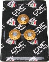 CNC Racing Ducati kit de protectores de cuadro Ducati ST2-ST3-ST4, dorado