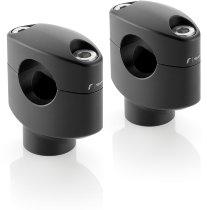 Rizoma Riser Adapter, black - universally useable