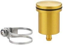 Rizoma Ausgleichsbehälter, gold - ohne Sichtfenster