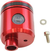 Rizoma expansion tank, red - for clutch