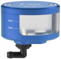 Rizoma expansion tank NEXT, blue - with viewing window