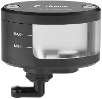 Rizoma expansion tank NEXT, black - with viewing window