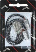Rizoma cable sets, black - rear indicators