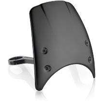 Rizoma Windschild CF010 (Aluminium) (ABE) mit Windschild-Adapter
