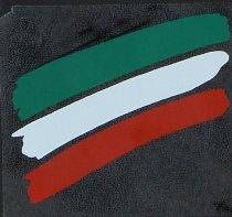 Sticker italian stripes