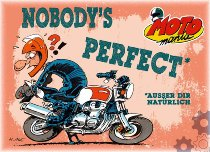 Motomania Magnet ´Nobody is perfect´ NML