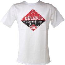 Dellorto T-shirt `inc 1933`, white, size: XL