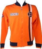 Dellorto Sweatshirt `reparto corse`, orange, size: XL NML